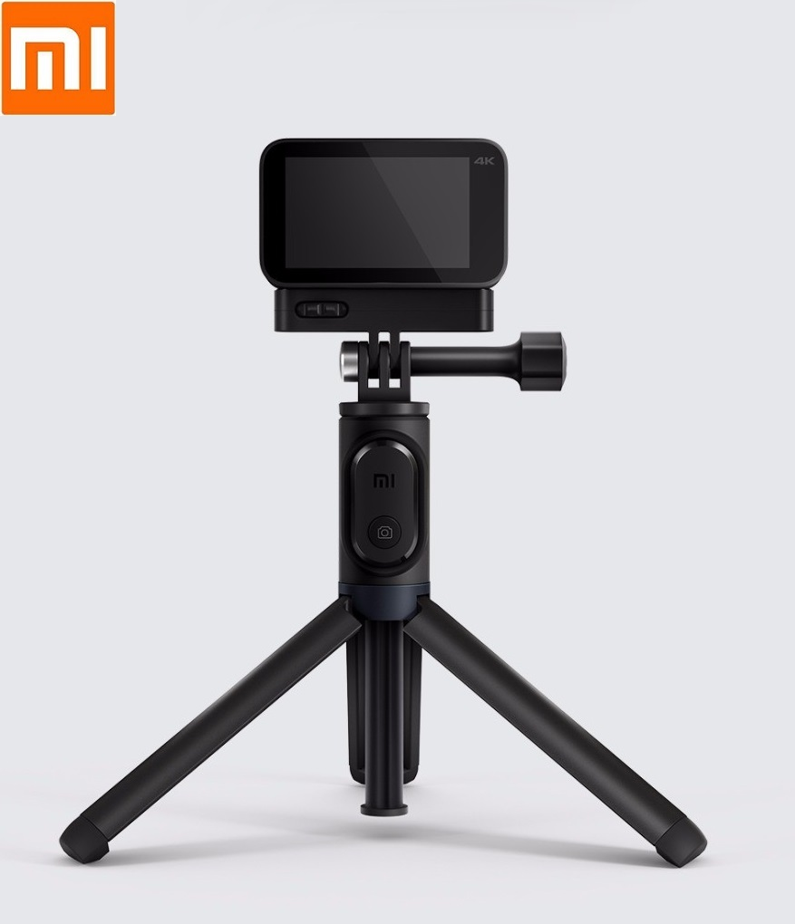 Original Xiaomi Small Camera Selfie Stick Tripod Bluetooth 3.0 Remote Control 360 Rotation Lightweight Foldable Compact