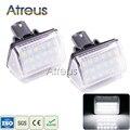 2 Pcs Car LED License Plate Luz 12 V SMD3528 Branco CONDUZIDO Número Da Placa lâmpada Kit Lâmpada Para 6-03 Mazda CX-5 13-CX-7 07-Acessórios