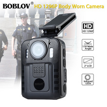 Boblov WN9 Body Worn Camera 1080P 64GB DVR Video Security Cam 170 Degr