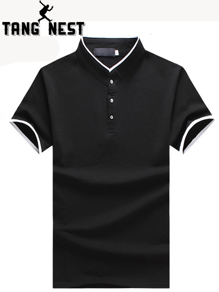 TANGNEST 2019 Hot Sale Business   Polo   Shirt Plus 5 Colors Slim Short-sleeve   Polo   Good Quality   Polo   Shirt Men Size 5XL MTP465