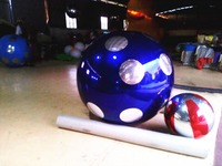 New Fashion Stitching Inflatable Mirror Ball 2m Dot Ballons Inflatable Toys