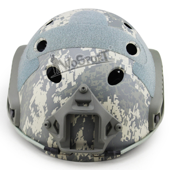 WoSporT Camouflage Sports Helmets PJ Type Military Tactical Army Airsoft Shooting Paintball Hunting Cycling Protective Helmets