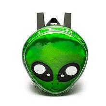 Милый Инопланетянин Рюкзак Зеленый лазер девочек школьная сумка для подростков женщины рюкзак HARAJUKU Стиль мультфильм животных Mochilas