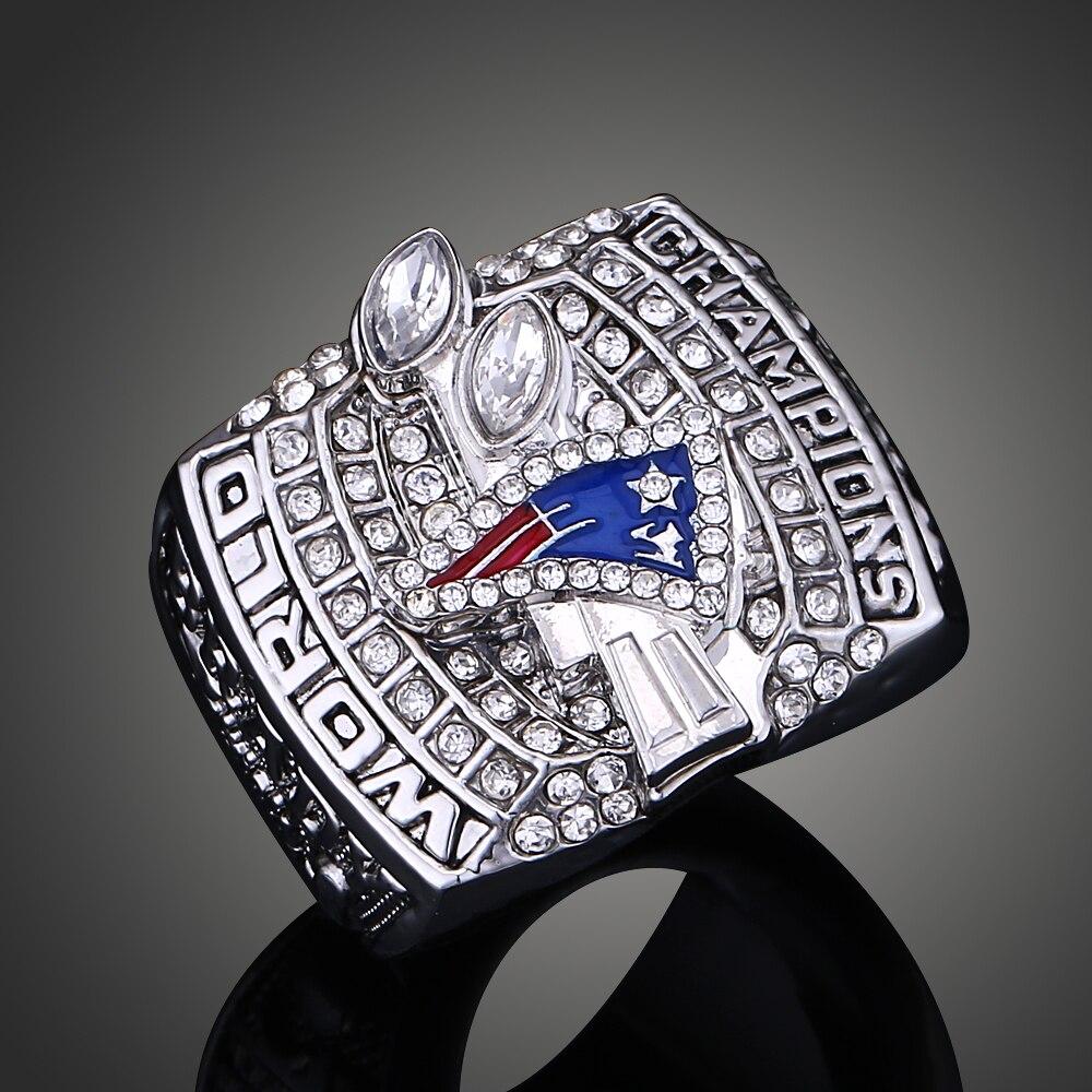 2003 new england patriots super bowl ring pretty sports jewelry replica ring men j02087 china
