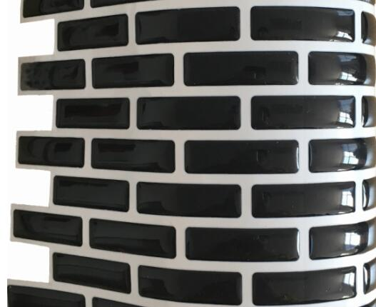 Backsplash Tile for Kitchen Marble Square Peel and Stick Tile, Adhesive Vinyl Wall Tiles, Urban Oblong 9.3