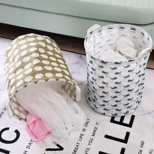 Image 4 - 2019 NEW Organizador Laundry Basket Portable Folding Sundries Box Bucket Closet Pillow Quilt Blanket Baby Toy Storage Bag