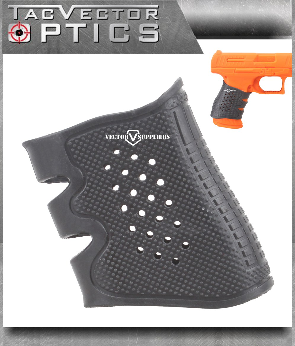 Vector Optics GEN 2 Pistol Rubber Grip Cover Sleeve Slip-On for Avoid Slip Black Color B ...