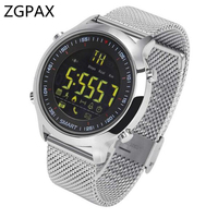 ZGPAX ZX18 Smart Watch Waterproof IP68 5ATM Passometer Message Reminder Ultra Long Standby Swimming Sports Activities