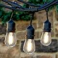 10 M 10 LED de Interior/Al Aire Libre Impermeable Luces de la Secuencia de Calidad Comercial E26/E27 de La Calle Jardín Patio Patio Trasero de Vacaciones cuerdas luces