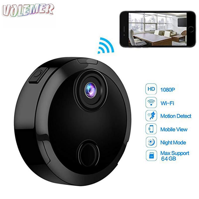 Voelemr hot HDQ15 Mini Camera Full HD 1080P Wide Angle Wireless Wifi Mini Camcorde Night Vision Motion Detection Sensor Car DVR hidden install wifi car dvr for bmw car low spec e90 e91 e87 e84 hd 1080p 170 wide angle support g sensor motion detection