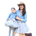 Buenos Ninos Family Fitted Chiffon Pettiskirts Solid Colors Tutu skirts Girl Dance Skirt Tulle Petticoat Free Shipping