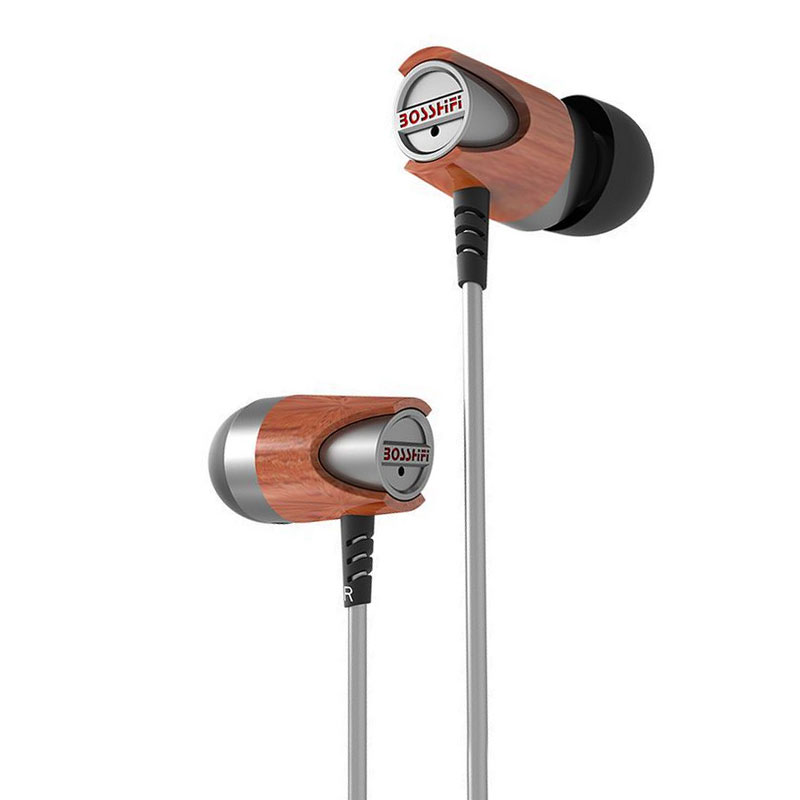 BOSSHIFI B3S Dynamic and Armature Wood Earbuds HIFI Red Moving Iron&Coil In Ear Earphone DIY Wooden Headset DJ Metal Headphone girjesh singh v ganesan and s b shrivastava structural studies of nano crystalline metal oxide films