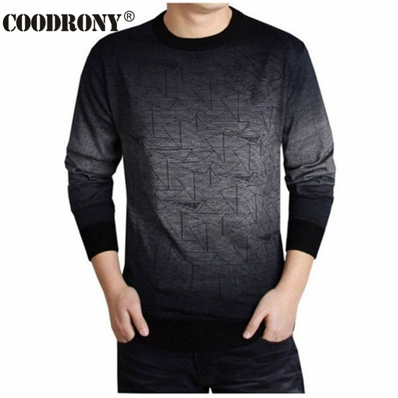 buy coodrony cashmere sweater men brand. Black Bedroom Furniture Sets. Home Design Ideas