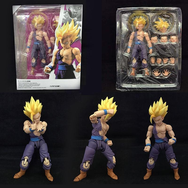 Dragon Ball Super anime figure articulados playmobil dbz cuadro de Son Gohan Action PVC Model plastic hot toys collectibles