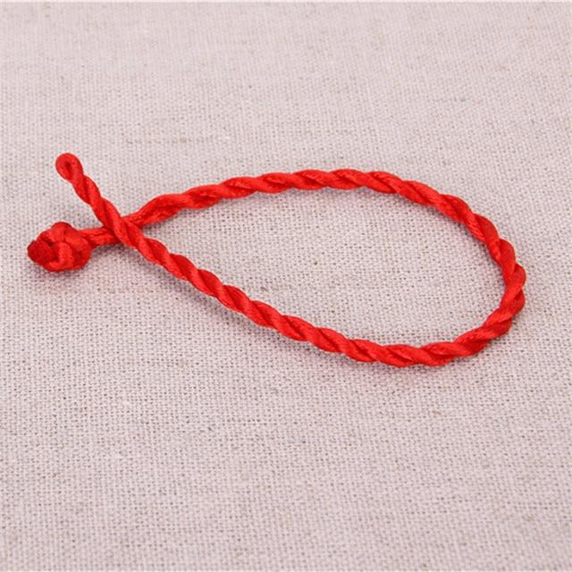 10pcs Lot Good Luck Red String Of Fate Bracelets Women Fashion Handmade Cord Lucky Kabbalah Friendship Bracelet Christmas Gift