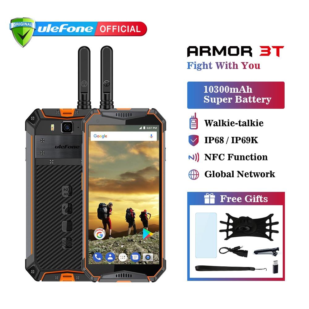 Ulefone armadura 3 T IP68 impermeable del teléfono móvil Android 8,1 de 5,7