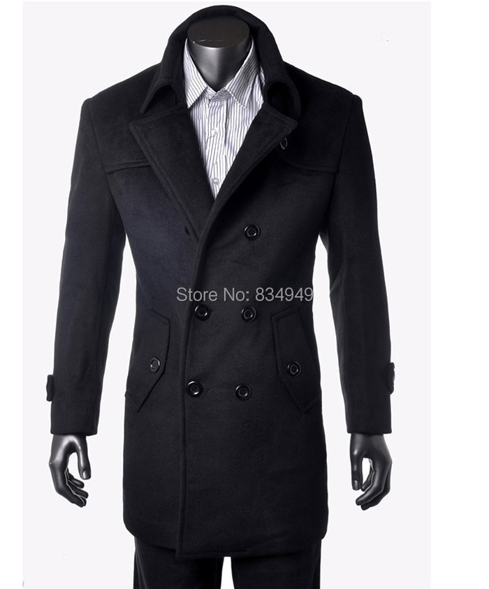 Popular Mens Black Winter Coat-Buy Cheap Mens Black Winter Coat ...