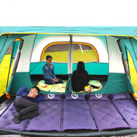 Super 430*305*200cm 10 12 Person Large Camping Tents Waterproof Beach Tent Pop Up Hiking Fishing Outdoor Camping Hiking Tents