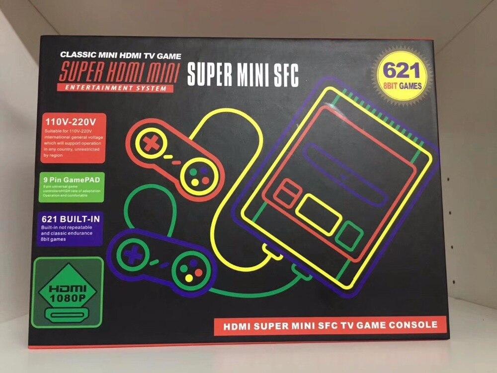 Free DHL 30pcs HDMI super mini TV Family Game Console 8 Bit Retro Video Game Console
