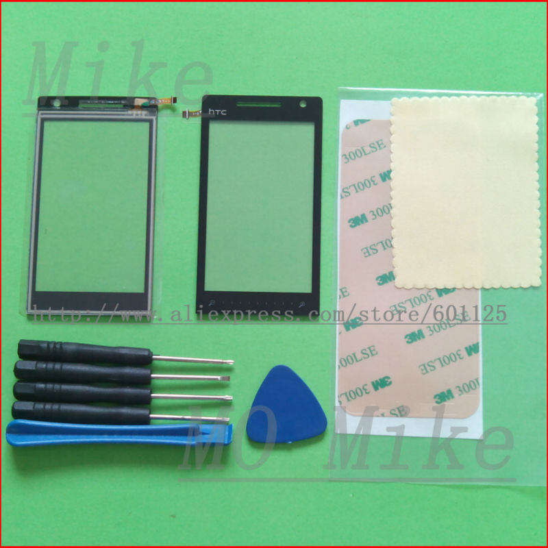 Touch Screen Digitizer glass panel Lens HTC Diamond 2 T5353 T5388 Black Replacement & Tools - mo mike's store