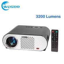 GP90 Proyector 3200 Lúmenes 1280*800 LED de la lámpara Proyector LCD para el Teatro Casero Reunión HDMI/VGA/USB/AV Proyector