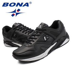Image 5 - BONA New Calssice Style Men Running Shoes Lace Up Men Athletic Shoes Outdoor Jogging Sneakers Shoes Comfortable Free Shipping