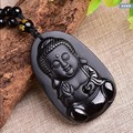 Drop Shipping Jade Necklace Pendant New Zealand Maori Style Natural Nephrite Jade Black Buddha Pendants Transhipped Buddha