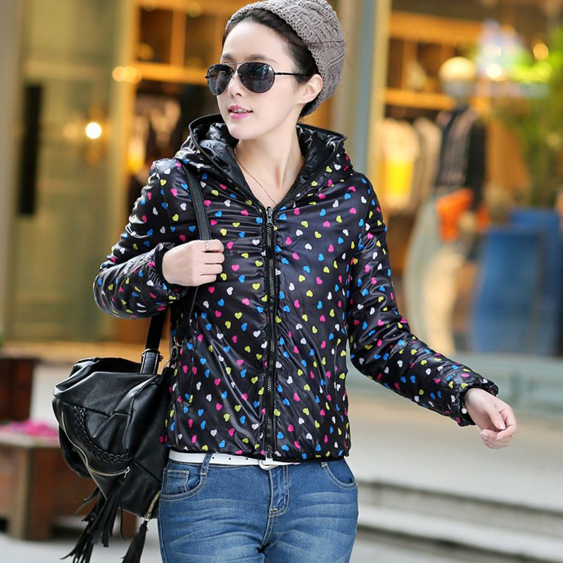Double New Women yellow Red Wear Winter Casual Cotton Outerwear Fashion Ladies Short 2019 green sided Female black Pr065 Parkas Coat Hooded Jacket Warm r01Exwq0