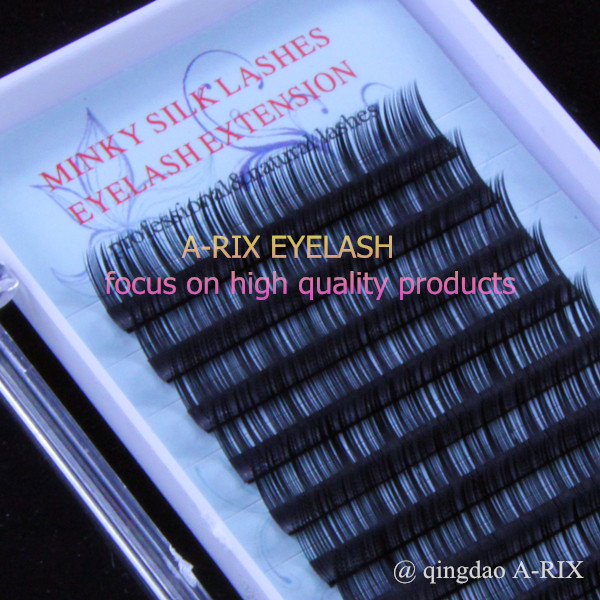 018 1pclot Excellent Quality A Rix Silk Minky Eyelash Extensions