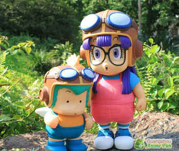 2pcs/set Dr.Slump Anime figure toy Arale with Flying capanime PVC dolls 40cm height Lovely shape - DISCOUNT ITEM  5% OFF All Category