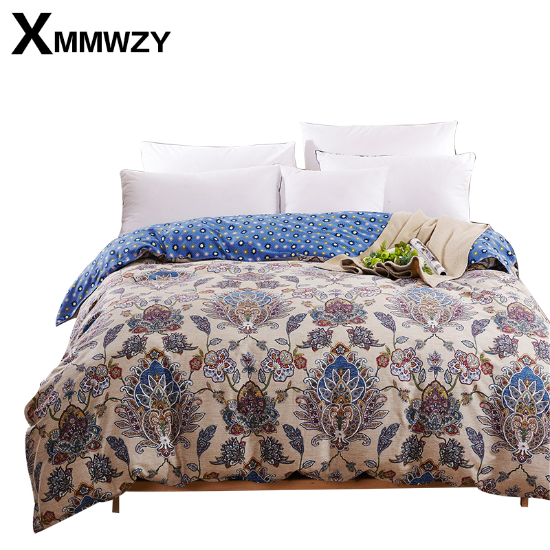 100 Cotton Duvet Cover With Zipper Quilt Cover Or