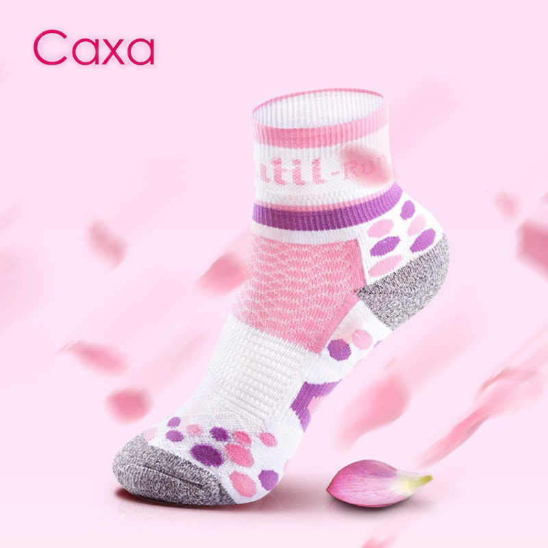 CX16302 New Arrival Caxa Marathon Running Short Socks Breathable Quick-drying High-quality Outdoor Hiking Sports Socks