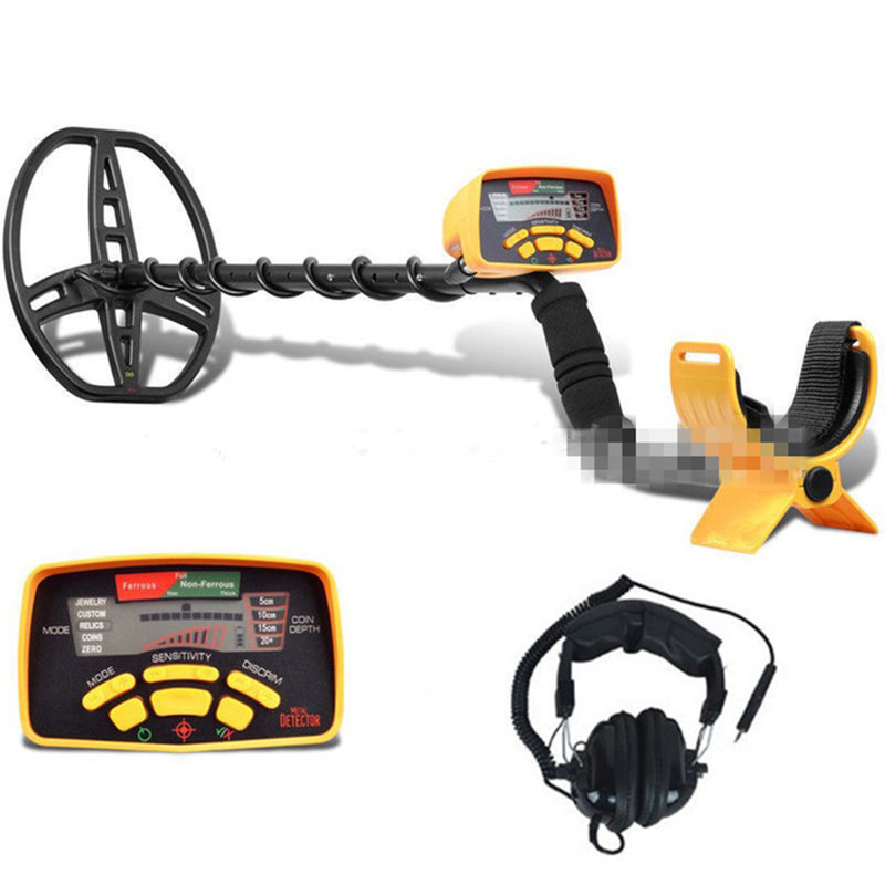 Underground Metal Detector Professional MD6350 Gold Digger Kit Treasure Finder Hunter Long Range Depth Detection Detecting Gem