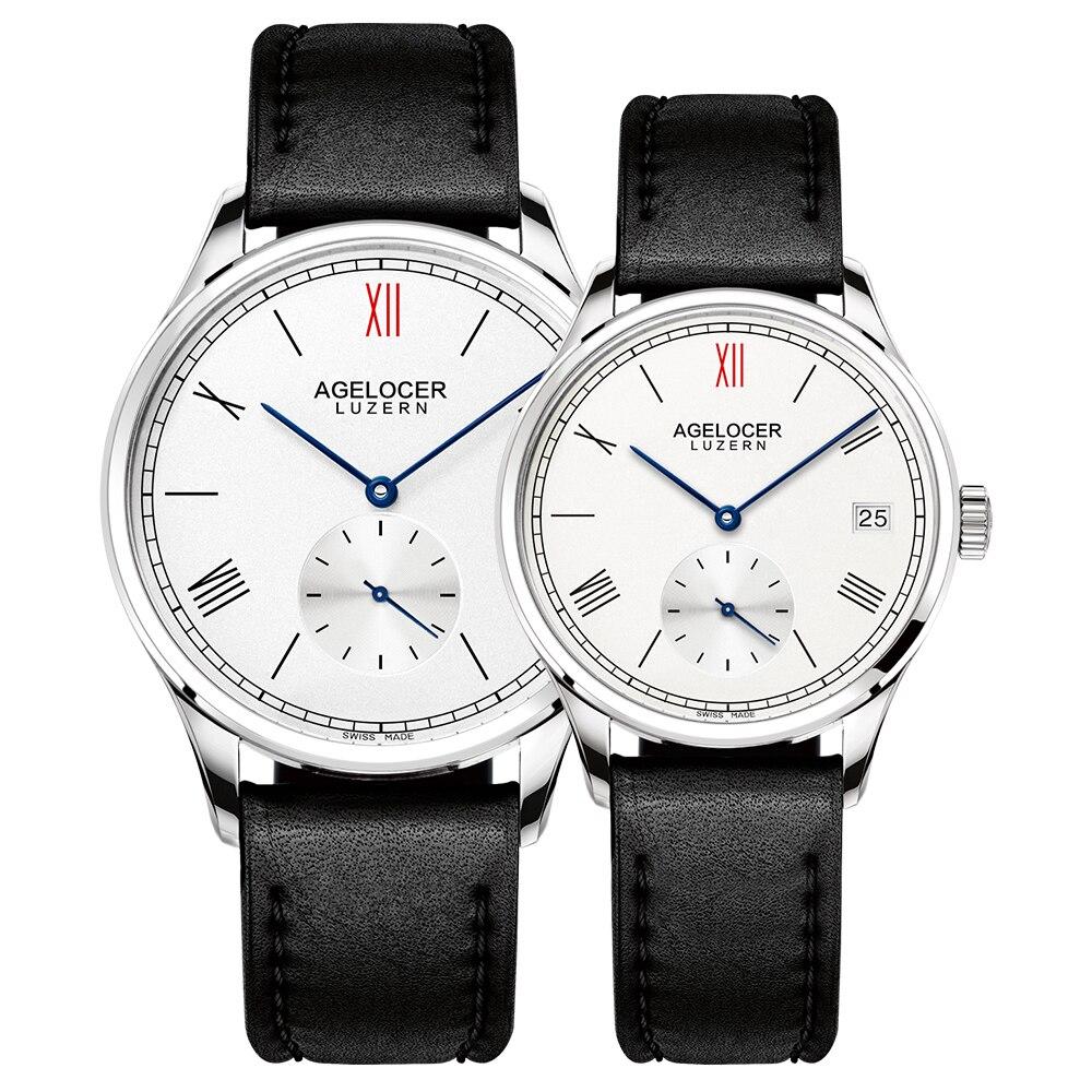 Agelocer Brand Mechanical Watch lovers Watches Women Men ...