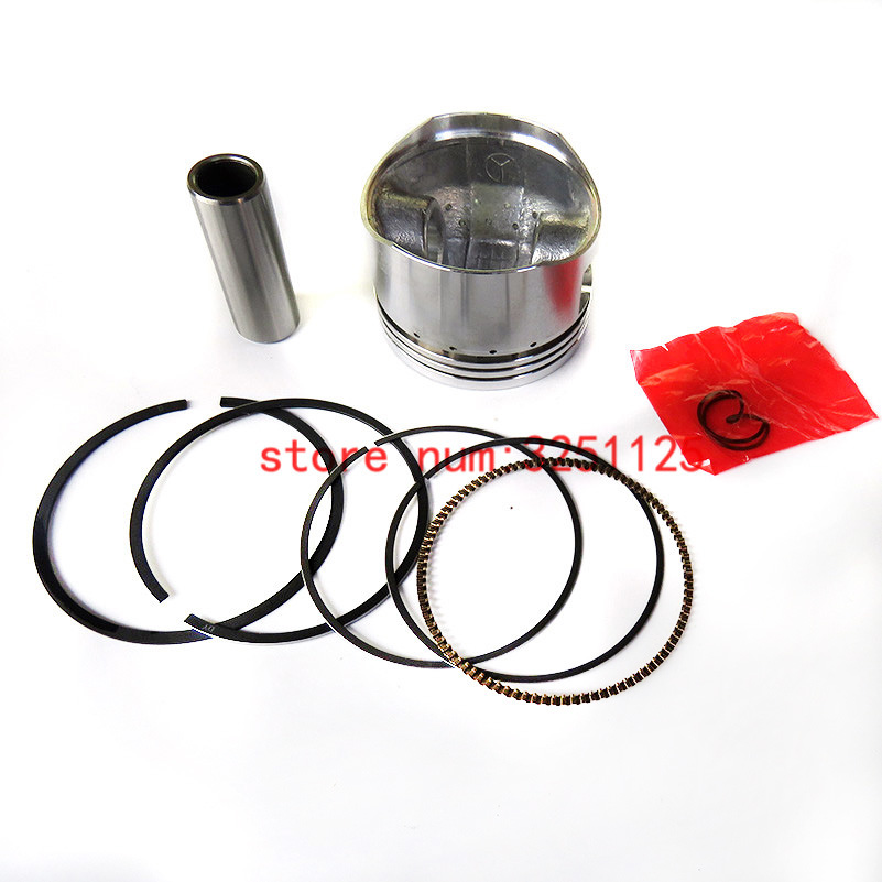 52mm 13mm Pistons Pin Ring Kit For Chinese <font><b>Lifan</b></font> <font><b>110cc</b></font> <font><b>Engine</b></font> Motorcycle Pit Dirt Trail Motor Bike ATV Quad image