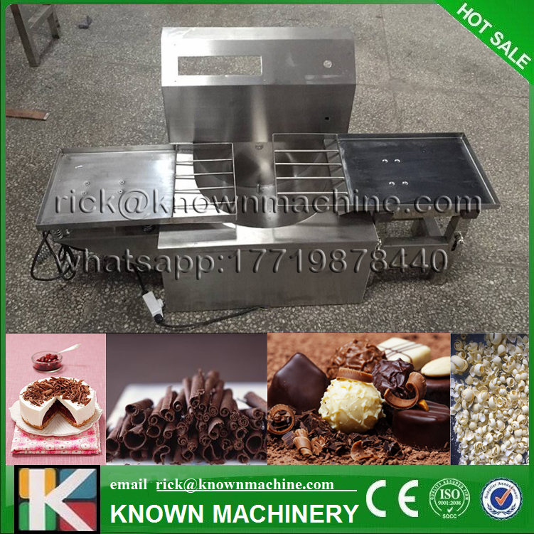 The Ce certified food grade stainless steel 45W Chocolate Vibration table machine free shipping by express 1000g food grade guar gum powder free shipping