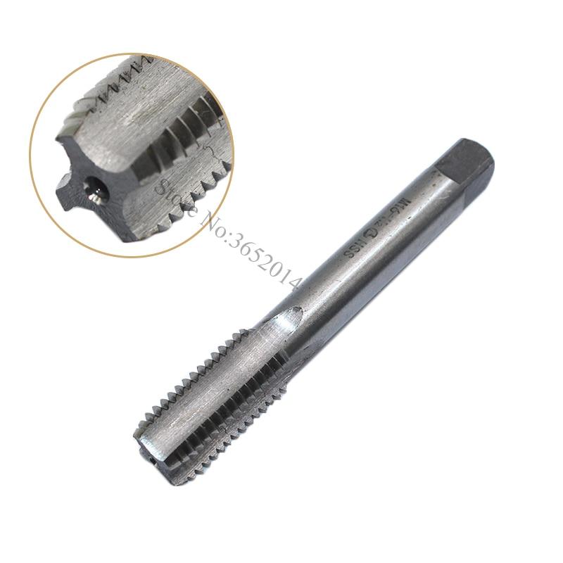 1PC M16 HSS Tap Straight Flute Machine Screw Tap M16X1 M16X1.25 M16X1.5 M16X1.75 Right Thread Metric Tap Drill Machine MetalTool