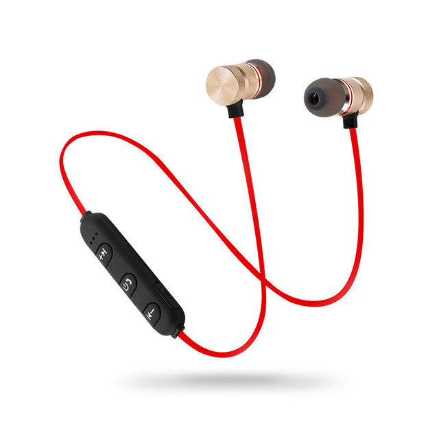 Magnet Sport In-Ear headphone Bluetooth Earphone Earpiece Handsfree Stereo Headset Earbuds Headsets With Microphone for LG Lotus