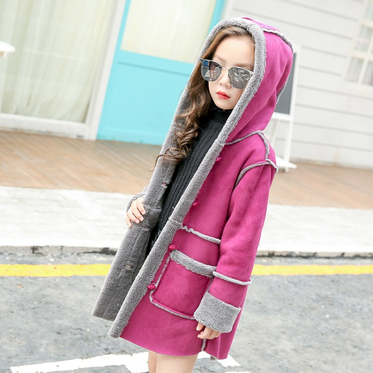 2018 new fashion 6-13 years old spring autumn winter girls long coat baby hooded outerwear child clothing children clothes new replacement for makita 18v bl1830 rechargeable power tool battery lithium ion 3000mah with pcb circuit board lxt400 194205 3