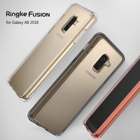 Ringke Fusion Case For Samsung Galaxy A8 2018 Crystal Clear PC Back TPU Bumper Drop Protection