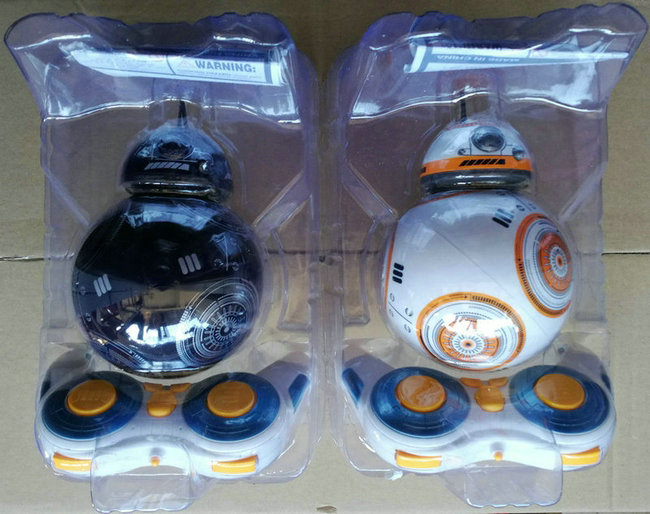 Star Wars 15cm RC BB-8 Robot Star Wars 2.4G remote control BB8 robot intelligent small ball Action Figure Toys Christmas Gift (1)
