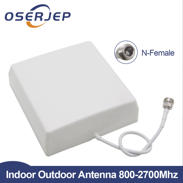 CDMA GSM DCS Internal 2G 3G 4G LTE Panel Antenna Indoor Antenna Mobile 800 2700MHz For Cell Phone Signal Repeater Mobie Booster