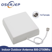 CDMA GSM DCS Interne 2G 3G 4G LTE Panel Antenne Indoor Antenne Mobile 800 2700MHz für Handy Signal Repeater Mobie Booster