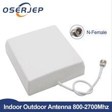 CDMA GSM DCS wewnętrzna antena panelowa 2G 3G 4G LTE antena wewnętrzna mobilna 800 2700MHz dla wzmacniacz sygnału telefonii komórkowej Mobie Booster