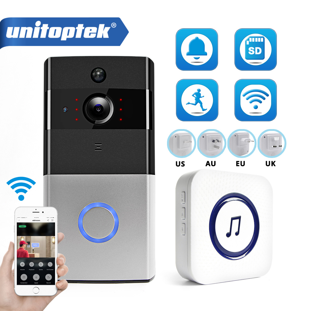 IP Video Intercom WI-FI Video Door Phone Door Bell WIFI Doorbell Camera For Apartments IR Alarm Wireless Security Camera(China)