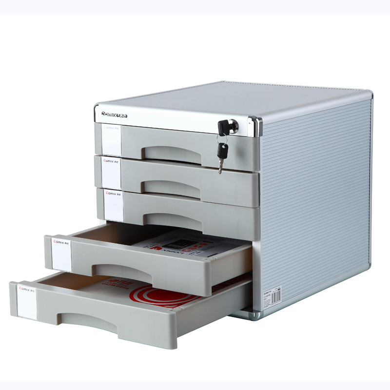 Office Supplies With Lock File Cabinet Box, Five Layer Of Hard Plastic  Authentic Capable Stationery Desktop In File Tray From Office U0026 School  Supplies On ...