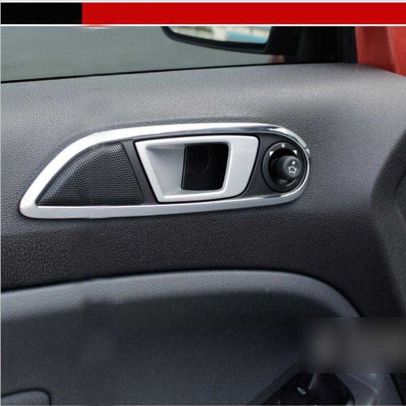 Left Driving Car Interior Accessories Chrome Inner Door