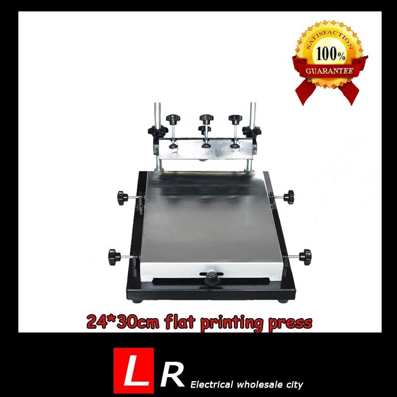Popular printing press machine buy cheap printing press for Single shirt screen printing