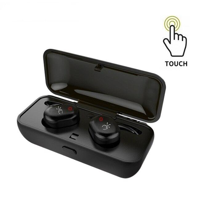 Ip010-x étanche dans l'oreille sans fil Bluetooth écouteur pour téléphone portable professionnel casque stéréo basse avec micro boîte de charge