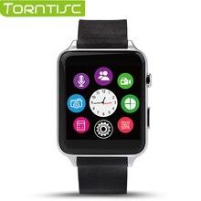 Torntisc neue gt88 bluetooth smart watch tragbare geräte smartwatch pulsmesser unterstützung tf sim karte für ios und android